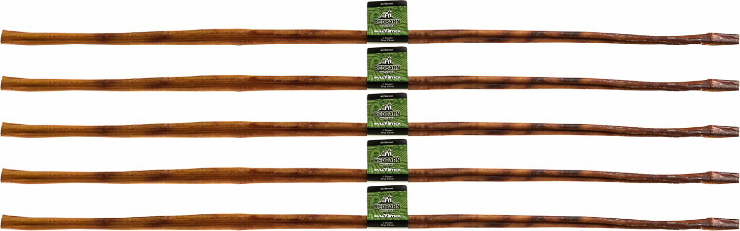 red barn 36 inch bully sticks 5ct. Black Bedroom Furniture Sets. Home Design Ideas
