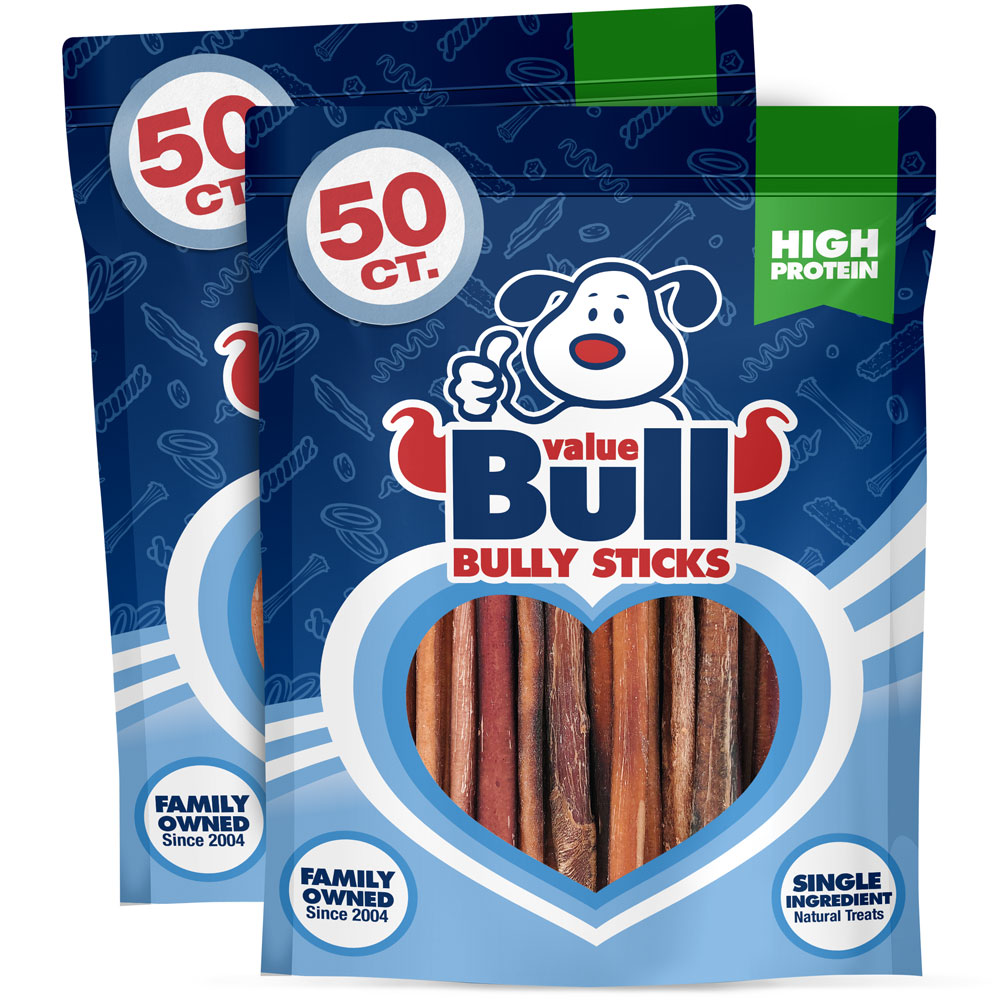 valuebull 100 all natural 6 inch regular bully sticks. Black Bedroom Furniture Sets. Home Design Ideas
