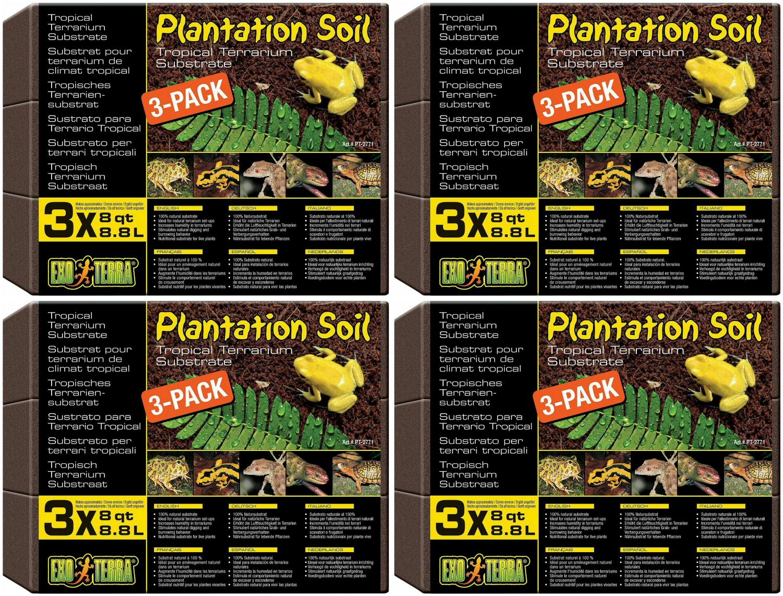 Exo Terra Soil Substrate Pack of 3
